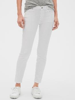 Mid Rise Legging Skimmer Jeans with Washwell™ Gap Factory