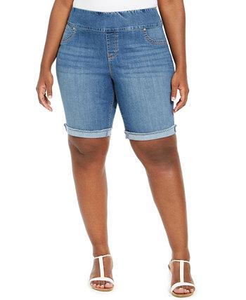 Джинсовые шорты с манжетой большого размера, созданные для Macy's Style & Co