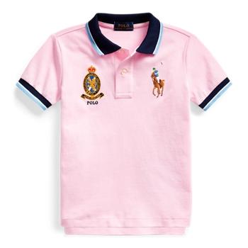 Big Pony Crest Cotton Polo Ralph Lauren