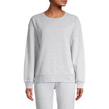 Толстовка с круглым вырезом и пуловером Calvin Klein Jeans