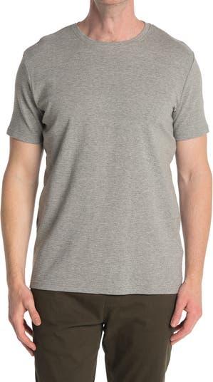 Вязаная футболка с круглым вырезом в рубчик HEDGE