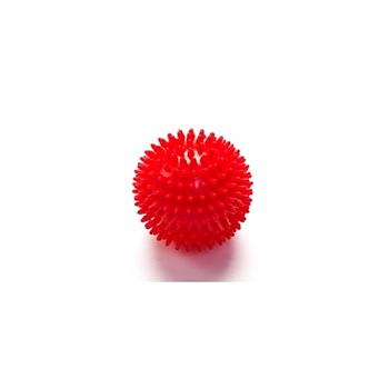 Deep Tissue Massage Ball with Spikes, Red HWR