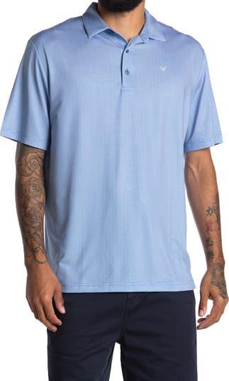 Однотонная футболка-поло с короткими рукавами CALLAWAY GOLF