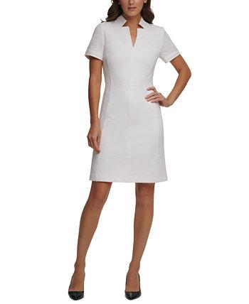 Жаккардовое платье трапециевидной формы Tommy Hilfiger