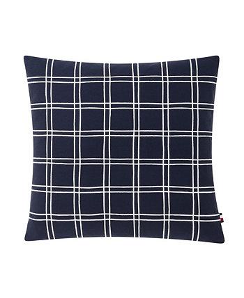 Tommy Hilfiger Square Lattice Decorative Pillow Tommy Hilfiger