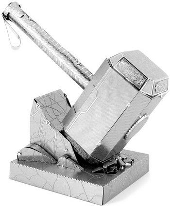 Набор для 3D-модели из металла Metal Earth - Marvel Avengers Mjolnir (Thor's Hammer) Fascinations