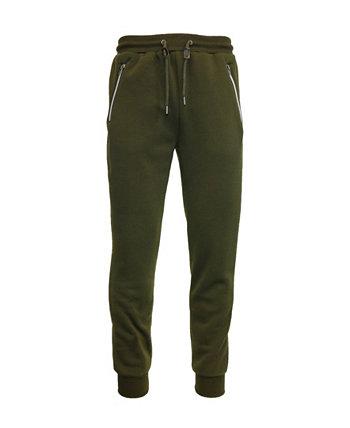 Мужские брюки-джоггеры Slim Fit с карманами на молнии Galaxy By Harvic