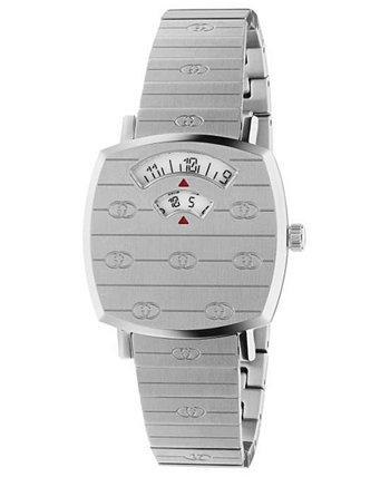 Женские часы с браслетом из нержавеющей стали Swiss Grip 27 мм GUCCI