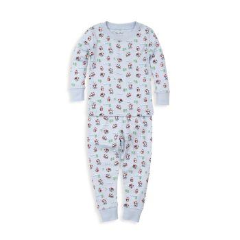 """Комплект пижамы для маленьких мальчиков с принтом """"Скользкие склоны"""" из 2 предметов Kissy Kissy"""
