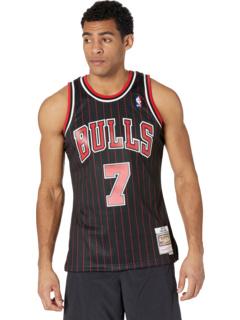 NBA Swingman Jersey Bulls 95-96 Тони Кукоч Mitchell & Ness