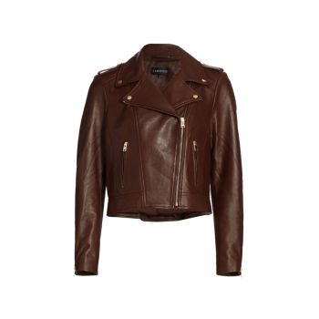 Leather Biker Jacket LAMARQUE