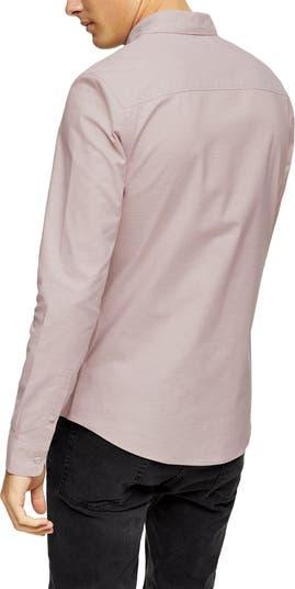 Оксфордская рубашка на пуговицах TOPMAN