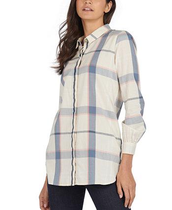 Lothian Cotton Printed Shirt Barbour