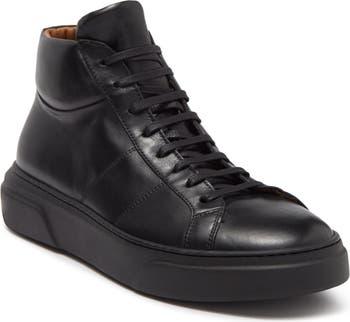 High Top Leather Sneaker Antonio Maurizi
