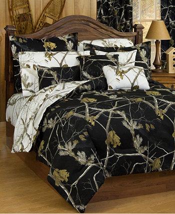 Realtree AP Black Full Comforter Sham Set Karin Maki