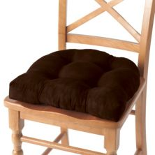 Waterfall Faux-Suede 4-pk. Chair Pads Unbranded