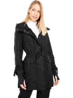 Камуфляж куртка с капюшоном Blanc Noir