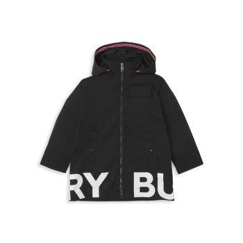 Little Boy's & Boy's Toby 2-in-1 Logo Coat Burberry