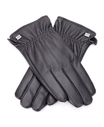 Мужские кожаные перчатки наппа Mio Marino