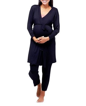 Халат для беременных Second Skin NOM Maternity