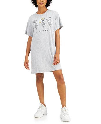 Платье-футболка Juniors 'California Love Tribe