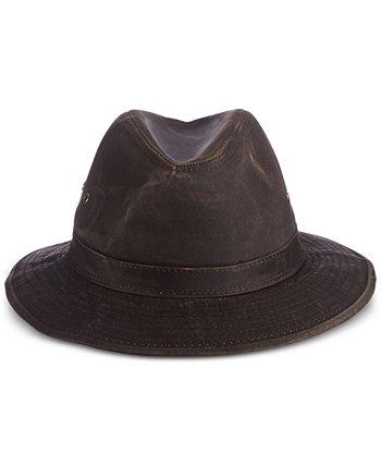 Мужская выветрившаяся шляпа сафари Dorfman Pacific