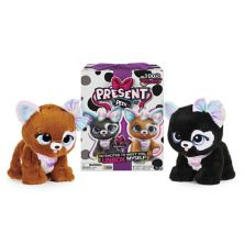 Present Pets Glitter Puppy Interactive Plush Pet Toy Spin Master