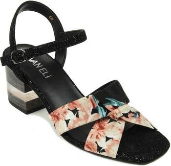 Сандалии на блочном каблуке Liko - доступны разной ширины Vaneli
