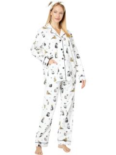 Фланелевая пижама с повязкой на голову P.J. Salvage