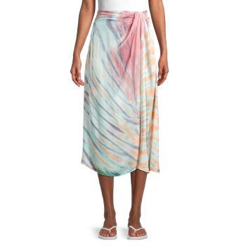 Юбка с искусственным запахом Savanna Tie-Dye Young Fabulous & Broke