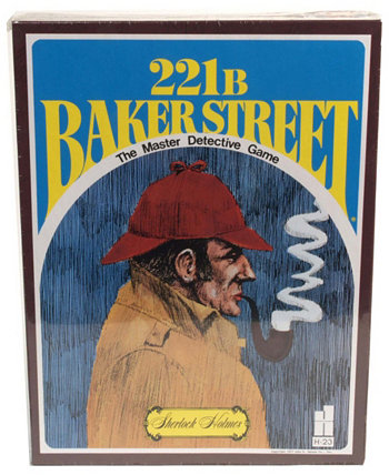 Бейкер-стрит, 221B - главная детективная игра John N. Hansen Co.