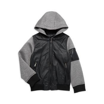 Куртка для маленьких мальчиков с капюшоном Urban Republic