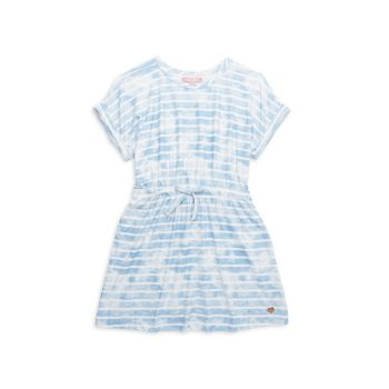 Вкусное платье с принтом тай-дай для девочек BCBG Girls