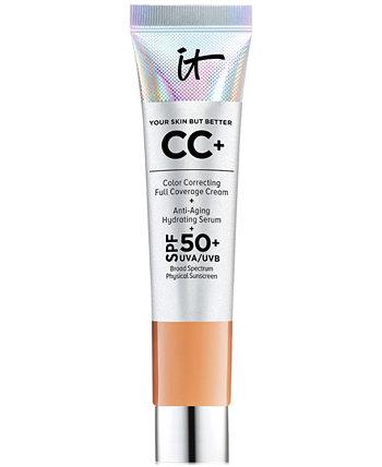 Крем CC + с SPF 50+ Travel Size IT Cosmetics