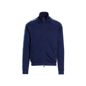 Спортивная куртка на молнии Mockneck DSQUARED2