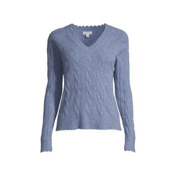 Рваный вязаный свитер Minnie Rose