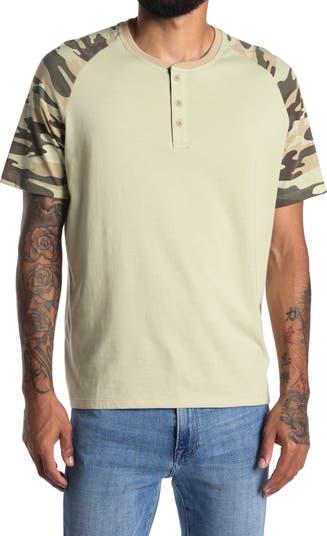 Трикотажная футболка Henley с короткими рукавами Como Vintage