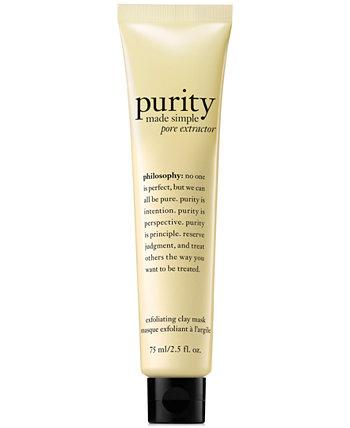 Purity Made Simple Pore Extractor Exfoliating Clay Mask, 2,5 унции Philosophy