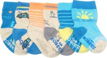 Носки для серфинга - набор из 6 шт. Robeez