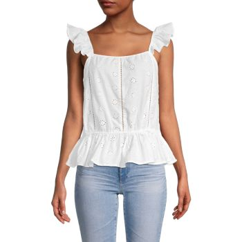 Блузка с короткими рукавами и ушками Cliche
