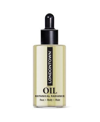 Растительное масло для сияния кожи лица, тела и волос, 0,3 унции. Londontown