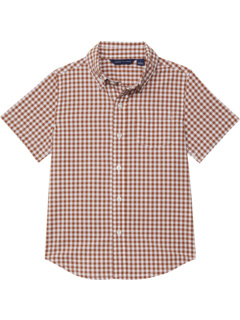 Gingham Button-Up Shirt (Toddler/Little Kids/Big Kids) Janie and Jack