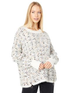 Пуловер с круглым вырезом на молнии Bobeau