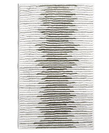 Хлопковый коврик с текстурированной полосой 22 x 36 дюймов, созданный для Macy's Hotel Collection