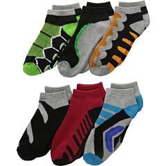 Tech Sport Low Cut 6-Pack (Малыш / Маленький ребенок / Большой ребенок) Jefferies Socks
