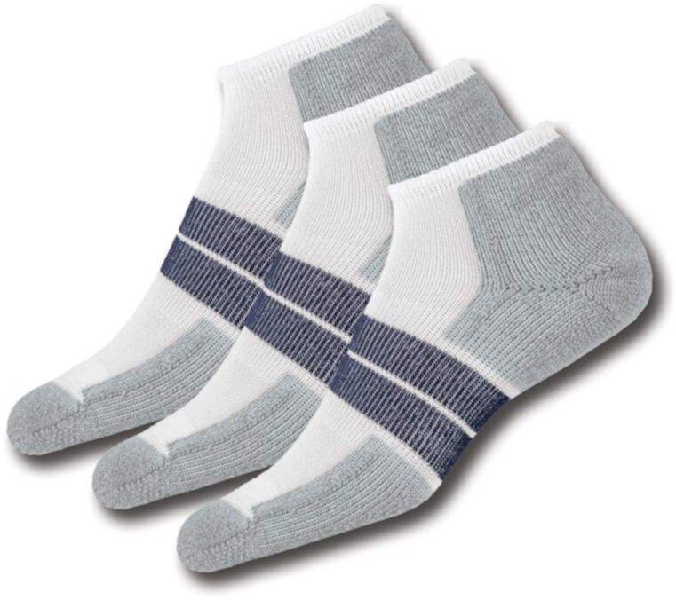 84 N - Набор из 3 пар толстых носков с низким вырезом на толстой подкладке для бега Thorlos