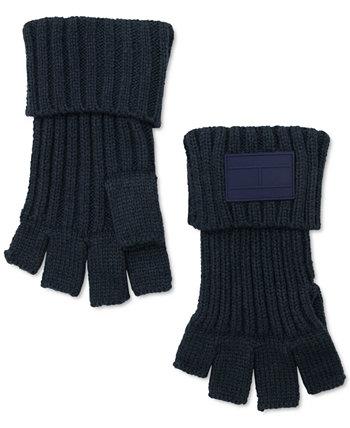 Мужские перчатки без пальцев с призрачным ребром Tommy Hilfiger