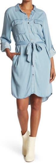Платье-рубашка на пуговицах Ada Rolled Tab Sleve Velvet Heart