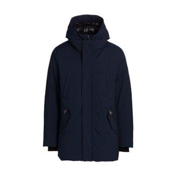 Водоотталкивающее пуховое пальто Edward Mackage