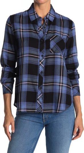Рубашка с пуговицами спереди в клетку Workshop